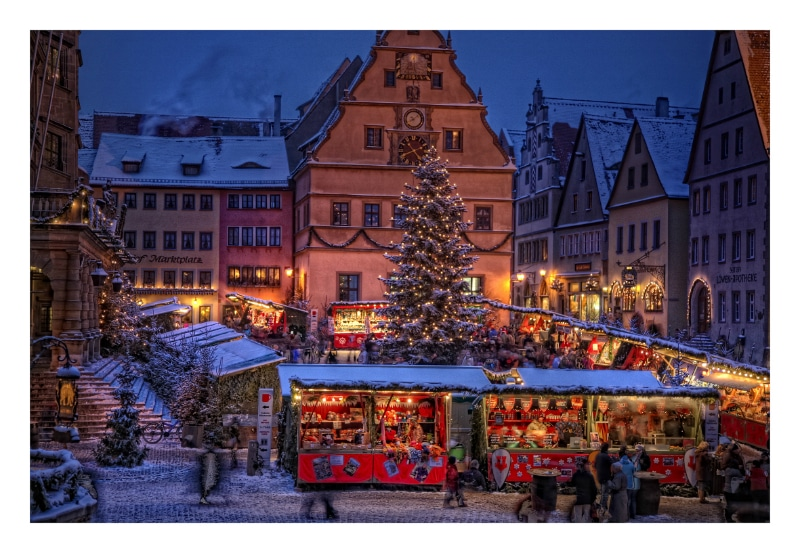 Romantic Road Christmas Self-Drive Tour