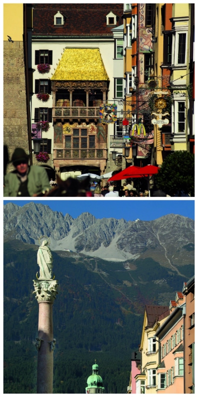 Goldenes Dachl and Hohensalzberg Austria to-europe.com