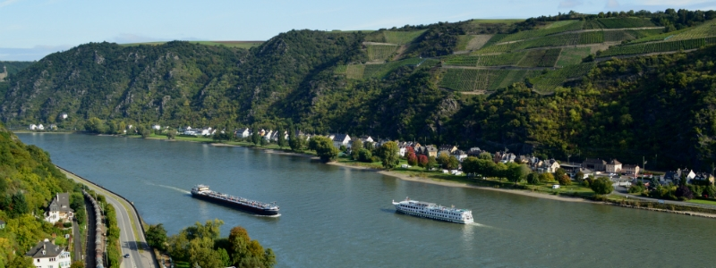 Historic Cities Rhine Mosel Tour, Historic Cities Rhine Mosel Tour Rhine River