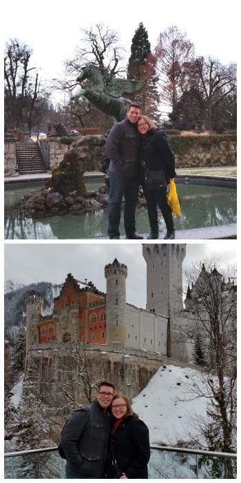 Mirabell Gardens in Salzburg and Neuschwanstein Castle Germany to-europe.com