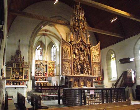 Herrgottskirche Romantic Road Tour