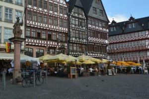 Gourmet Castle Self-Drive Tour, Frankfurt Roemer (Römerberg) City Center Germany toeurope to.europe.com