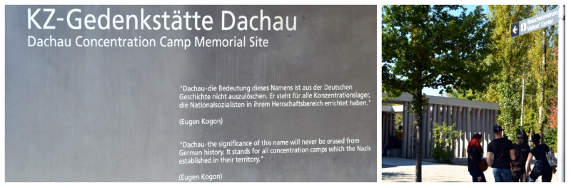 Dachau Memorial Site, Entrance to the Dachau Memorial Site Information Center