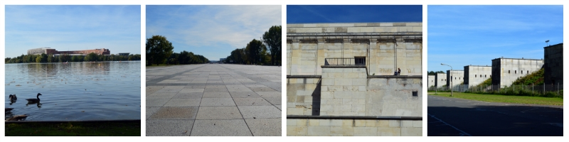 History Rail Tour Third Reich, Nazi Rally Grounds, Congress Hall, Great Road, Zeppelinfield