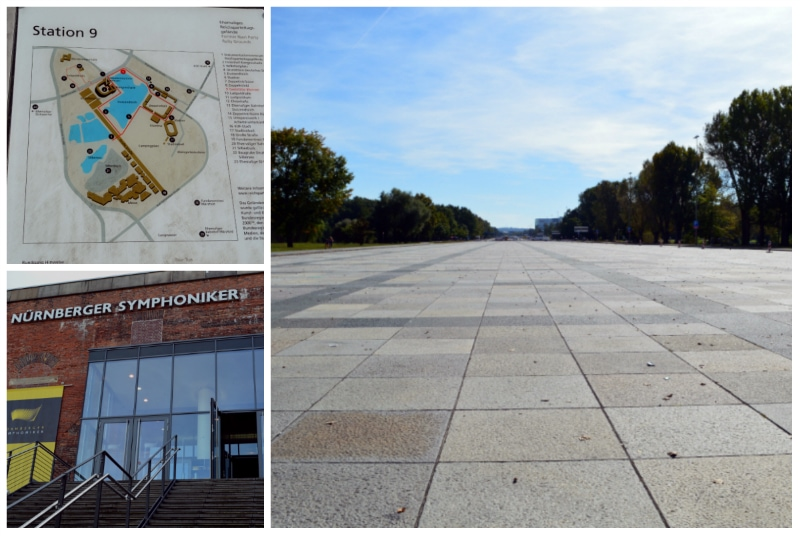 Nazi Rally Grounds, Walking tour across the former Nazi Rally Grounds in Nuremberg Germany