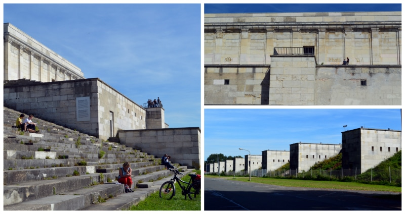 Nazi Rally Grounds, Zeppelinfeld with Main Tribune at Nazi Rally Grounds