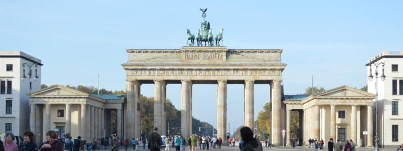Luxury Central Europe Rail Circle Tour, Brandenburg Gate Berlin Germany to-europe.com