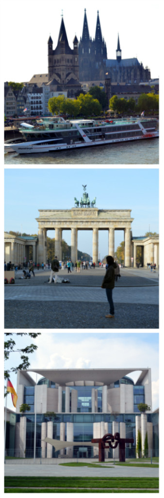 Cologne Cathedral, Brandenburg Gate and German Chancellery Berlin Germany to-europe.com