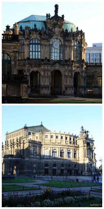 Zwinger and Semper Opera Dresden Germany to-europe.com