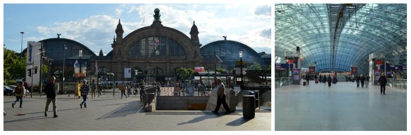 Frankfurt Central Station and Frankfurt Airport Rail Station