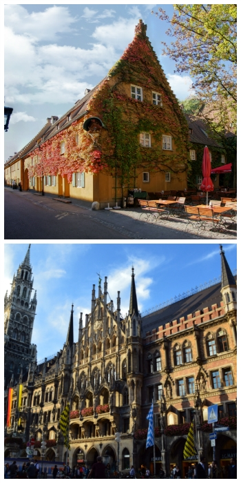 Fuggerei Augsburg and New Town Hall Munich Germany to-europe.com