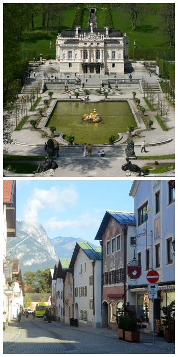 Linderhof Palace and Garmisch-Partenkirchen Bavaria Germany to-europe.com