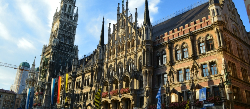 Munich New Town Hall Bavaria Germany to-europe.com