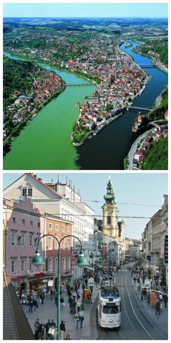 Passau Germany and Linz Austria to-europe.com