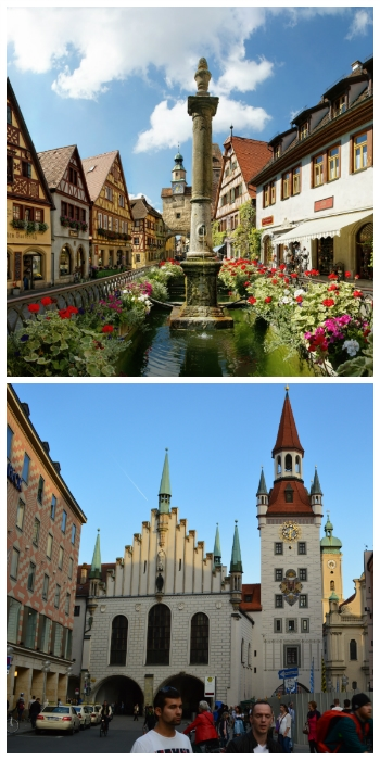Rothenburg ob der Tauber and Munich Germany to-europe.com