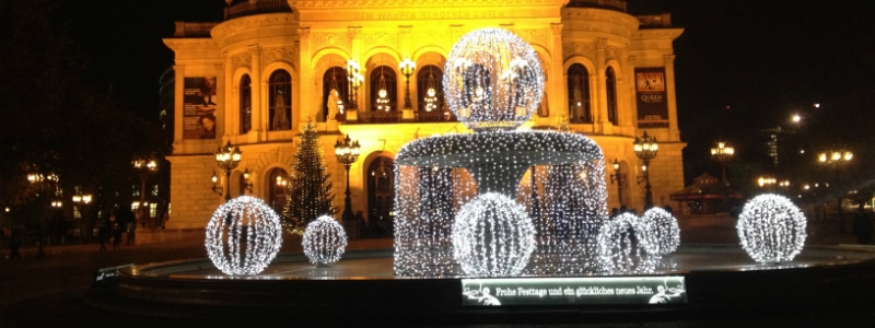 Frankfurt Opera House christmas Germany to-europe.com