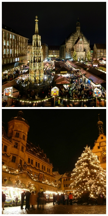 Christmas Market in Nuremberg and in Rothenburg ob der Tauber Germany to-europe.com