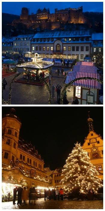 Heidelberg Christmas Market and Rothenburg Christmas Market Germany to-europe.com